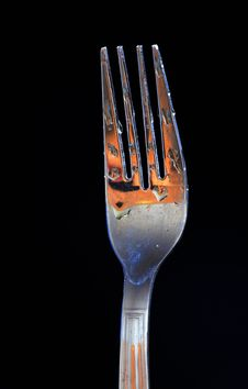 Free Night With A Fork Stock Photo - 17416500