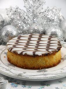 Free Christmas Cake Royalty Free Stock Photography - 17416827