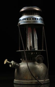 Free Old Kerosene Lamp Stock Photography - 17416892