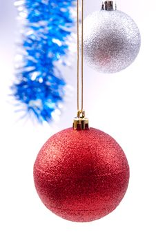 Free Christmas Decorations Royalty Free Stock Image - 17417106