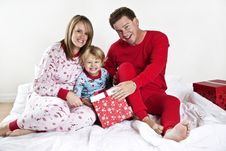 Free Family On Christmas Morning Royalty Free Stock Image - 17417306
