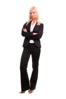 Free Portrait Of A Young Attractive Business Woman Stock Image - 17417571