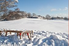Free Winter Sledge Stock Images - 17418064