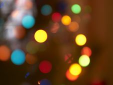 Free New-Year S Lights 01 Royalty Free Stock Photos - 17418458
