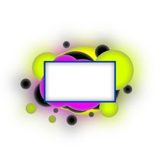 Free Abstract Icon, With Space For Text Royalty Free Stock Images - 17418499