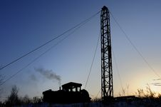 Free Drilling Tower Stock Photography - 17418872