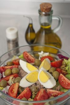 Free Rich Salad Stock Photography - 17418972