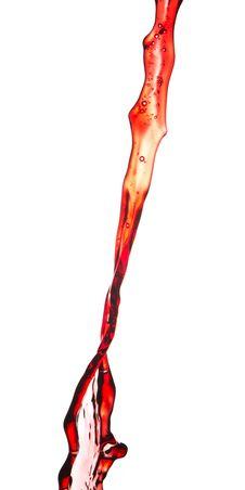 Free Red Wine Splash Stock Image - 17419351