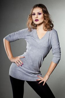 Free Elegant Fashionable Woman Royalty Free Stock Image - 17419846