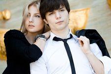 Free Couple - Girl And Guy Stock Photo - 17419910