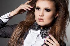 Free Elegant Fashionable Woman Royalty Free Stock Image - 17419976