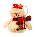 Free Snowman Toy Royalty Free Stock Photography - 17422447