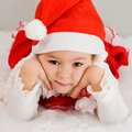 Free The Child Waits A New Year S Gift Royalty Free Stock Photos - 17425398