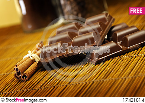Free Tasty Chocolate Stock Images - 17421014