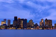 Free Boston Skyline Stock Photography - 17420762