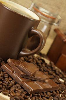 Free Coffee Time! Stock Image - 17420771