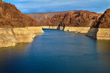 Free Low Water Level At Lake Mead Royalty Free Stock Image - 17420806