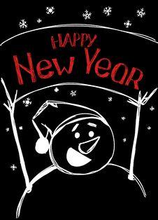 Free Happy New Year Royalty Free Stock Photos - 17420868