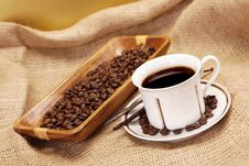 Free Coffee Time! Royalty Free Stock Photography - 17420967