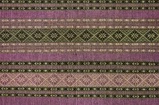 Free Texture Of Native Thai Cloth Stock Photos - 17421983