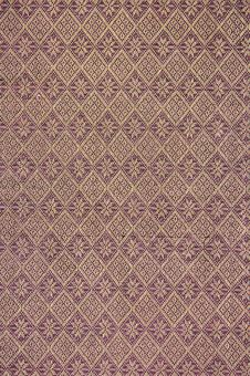 Pattern On The Thai Cloth Stock Image
