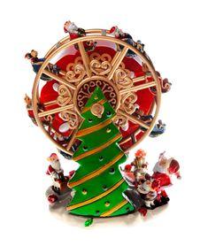 Free Christmas Carousel Toy Royalty Free Stock Photos - 17422438