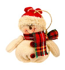 Snowman Toy Royalty Free Stock Photography