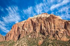 Free West Temple Sundial In Zion Royalty Free Stock Photos - 17422808