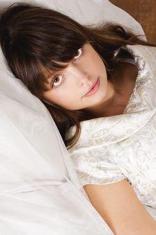 Free Portrait Of Beauty Brunette Stock Photo - 17423160