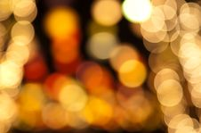 Free Defocused Lights Stock Photography - 17423272