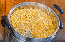 Corn Seed Cooking Stock Photography