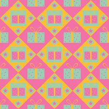 Free Cute Gift Pattern Stock Photos - 17424013