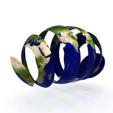 Free Sliced World Stock Photography - 17424732