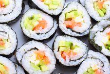 Free Japanese Sushi Stock Images - 17424734