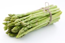Free Sheaf Of Asparagus. Stock Images - 17425094