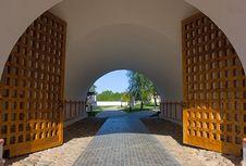 Free Gate Royalty Free Stock Photos - 17425098