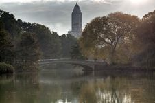 Free Central Park In Early Autumn Stock Images - 17425314