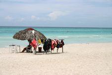 Free Cuba Beach Life Guard Stock Photography - 17425432