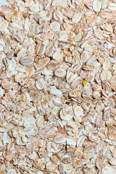 Free Wheat And Oats Flakes Stock Photos - 17425723