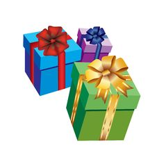 Free Boxes With Gifts. Royalty Free Stock Photos - 17425968