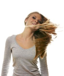 Free Portrait Of The Blonde Stock Images - 17426134