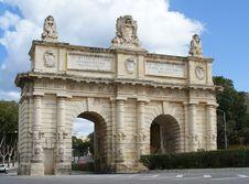 Free Porte Des Bombes Arch Stock Photos - 17426303
