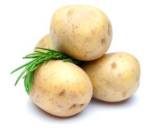 Free Potatoes And Rosemary Stock Photography - 17426752