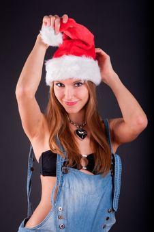 Free Christmas Girl Stock Image - 17426771