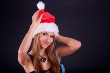 Free Christmas Girl Stock Photography - 17426772