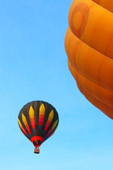 Free Colorful Hot Air Balloon Royalty Free Stock Image - 17426806