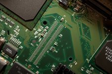Computer Circuit Royalty Free Stock Photos