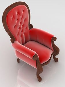 Free Armchair Royalty Free Stock Photography - 17427397