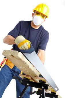 Mature Contractor Stock Photos
