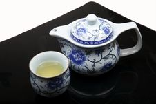 Free Chinese Tea Set Royalty Free Stock Images - 17427469
